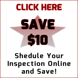 Schedule online now and Save $10